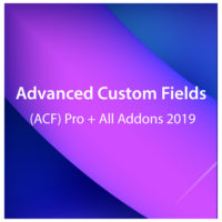 Advanced Custom Fields (ACF) Pro + All Addons 2019